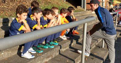 Liridon Qorraj und Marius Vogt trainieren die U11