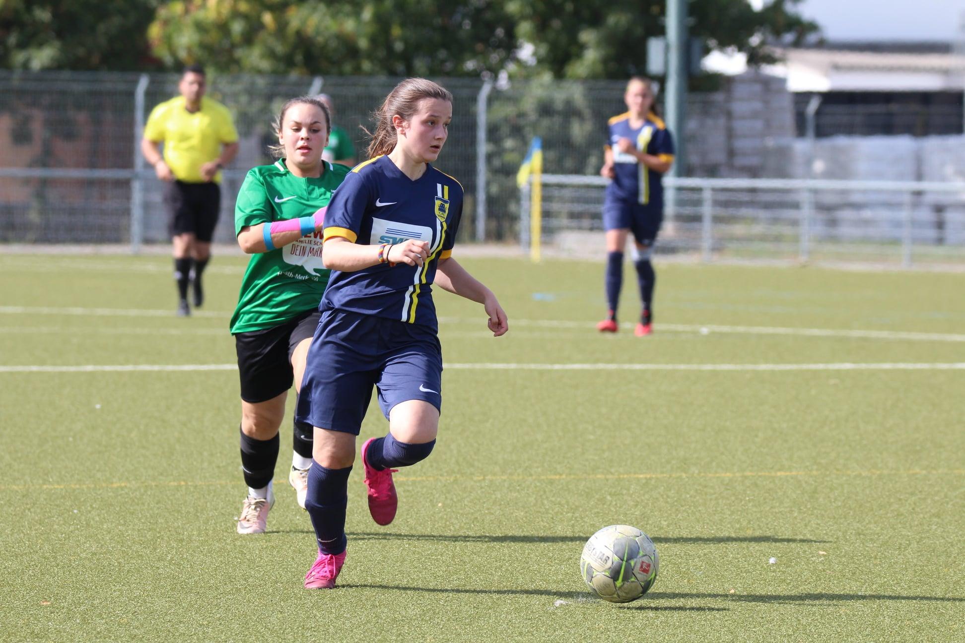 FCD Ladies siegen eindrucksvoll - 1. FC Düren
