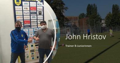 John Hristov bleibt Trainer der B-Juniorinnen