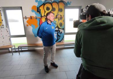 Sky Sport News bei den Junioren