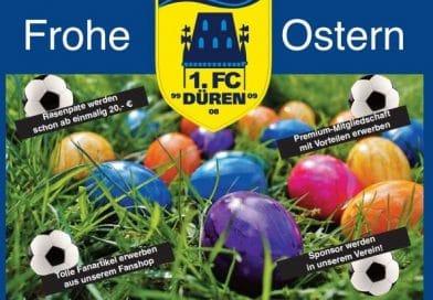 Ostergruß und Mitglieder-Information